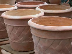 Pflanzgefäße aus Terracotta